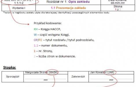 Haccp Prowadzenie Dokumentacji Systemowej W Gastronomii